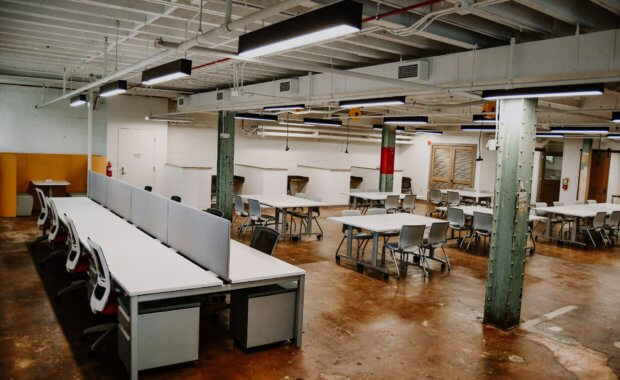 Image of StartUP Columbus' coworking space
